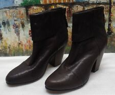Rag & Bone Classic Newbury Leather Ankel Boots - Size 41 - $495