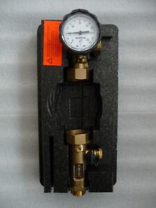 Rücklaufpumpenset Solarfocus DN 25 mit Durchflussmengenregler ohne Pumpe P150/21