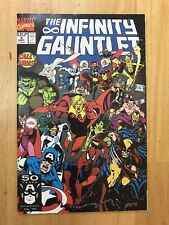 NM+ (9.6) INFINITY GAUNTLET #3 (1991 Series) End Game Avengers Thanos Comic