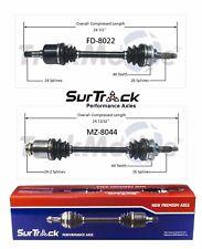 2 Front CV Axle Shafts SurTrack Set fits Kia Sephia Spectra FWD 98-00 Aut Transm