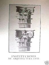 INSTITUCIONES DE ARQUITECTURA CIVIL José Ortiz y Sanz.