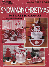 Snowman Christmas ~ Snow Decor Ornaments Tissue & More plastic canvas patterns