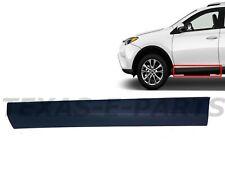 New Fits Rav4 Front Door Molding Trim Left Driver Lower 2016 2017 2018 Toyota