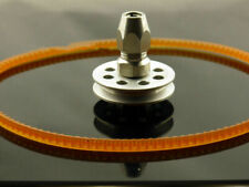 "Acoplador flexible pinza de sujeción 1/4"" con cinturón de Rueda De Mosca Para Motor Zenoah Gas RC barco #1368"