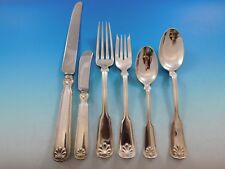 Shell and Thread by Tiffany & Co Sterling Silver Flatware Set Service 53 Pcs Dn