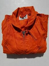 US Navy Indian Orange Summer Flight Suit Size 42 Long New