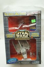 STAR WARS VEHICLES SERIES ALPHA CONCEPT MODEL PROTOTYPE SHUTTLE GALOOB MIB d