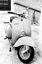 STUNNING CANVAS ITALIAN VESPA SCOOTER #803 MODS WALL HANGING PICTURE ART A1