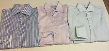 CHARLES TYRWHITT Sz 15 1/2 - 33 Lot Dress Shirts Slim Fit Non Iron Stripe