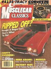 February 1989 Musclecar Classics 1966 Fairlane Hemi RT 1967 Big Block 1969 Judge