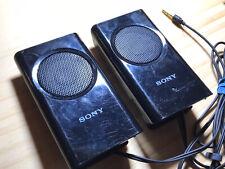 "Sony Portable Travel Mobile Speakers Laptop Notebook (SRS-M30) 3/4"" Jack (Black)"