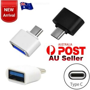 Premium USB 3.1 Type C Male to USB Female Converter USB-C Data OTG Adapter