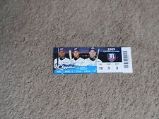 2018 Columbus Clippers Baseball Ticket Wyatt Toregas Jordan Brown 2009 All Stars