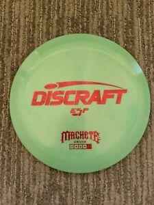 Discraft Machete ESP Plastic 173-174g