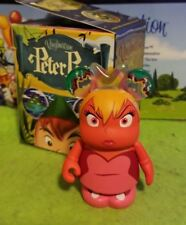 """Disney Vinylmation 3"""" Park Set 1 Peter Pan Angry Tinker Bell Red with Box"""