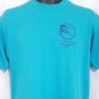 Tropical Breeze Resort T Shirt Vintage 80s Panama City Beach Made In USA Large