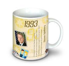 25th Anniversaire Cadeau - 1993 Café | Tea Mug pour Femmes et Hommes
