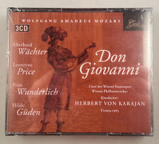 Mozart: Don Giovanni/Leontyne Price/Karajan 3CD Box Set on Gala/Germany SEALED