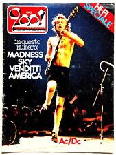 ANGUS AC/DC cover 1980 CIAO 2001 + MADNESS AMERICA VENDITTI