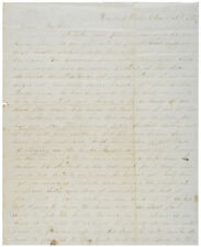 1860, Letter from Martha to her Brother,