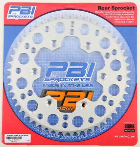 PBI REAR SPROCKET ALUMINUM 52T Fits: Husaberg FE390,FE450,FE570,FX450,FE450E,FE5