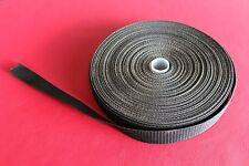 25mm Polypropylene Webbing 5 Metre Black