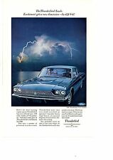 1966 FORD THUNDERBIRD TOWN LANDAU 428 V-8  ~  ORIGINAL PRINT AD