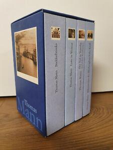 Thomas Mann - 4 Bände Sammler - Buddenbrooks Der Tod in Venedig Lotte in Weimar