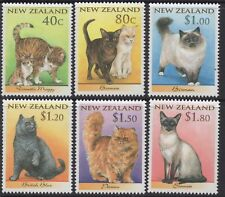 1998 New Zealand~Cats~Unmounted Mint~Stamp Set~ UK Seller