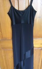 Long Dress Black by Laura Ashley Size 10 NWT (RRP £90)