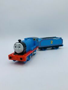 **STICKER DAMAGE Thomas & Friends Train Trackmaster Motorized Talking EDWARD