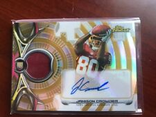 2015 Finest Football Rookie Refractor Patch Auto Gold 91/99 Jamison Crowder