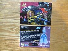 1997 STAR WARS GALAXY VEHICLES STINGER CARD SIGNED BILLY TAN ART, WITH POA