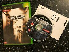 PAL Original XBOX Jeu Silent Hill 4 The Room + Boîte