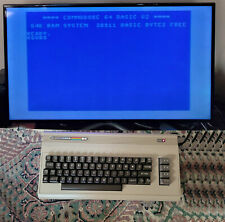 Vintage Commodore 64 Computer, Original Box