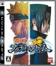 Used PS3 Naruto Narutimate Storm SONY PLAYSTATION 3 JAPAN JAPANESE IMPORT