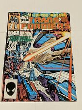 The Transformers #4 March 1985 Marvel Comics TEXEIRA 1st App Shockwave Dinobots