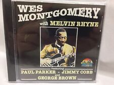 Wes Montgomery with Melvin Rhyne CD (1996) Jazz Like NEW Condition