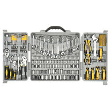 New ListingCraftsman 205 pcs/set Carbon Steel Mechanic Tool Hand Tools Kit with Carry Cases
