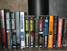 John Sandford Mixed lot of 14 Books~5 Hardcover 9 Paperbacks~Good to very good