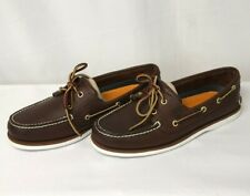 Timberland Classic 2-Eye Boat Shoes, Men's 8, TB074035, Pre-Owned