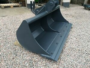 6ft Titus Grading Ditching Bucket. 65mm Pins Double Edge