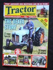 Tractor & Machinery, Oct 2011, The Dexta story, IH 674, Field-Marshalls MH 745