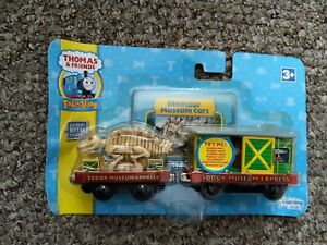 Thomas And Friends Take Along and Play Dinosaur Museum Cars New sealed Boxed