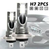 2PCS H7 LED Light Headlight Conversion 110W 30000LM 6000K Error Free Canbus Bulb