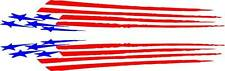 american flag 3 design boat decals
