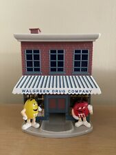 M&M's Collectible Walgreens Drug Company Store Candy Dispenser