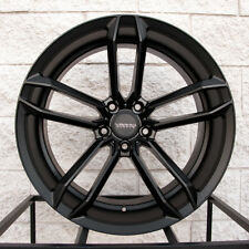 """20"""" Varro VD07 Staggered Wheels and Tires for BMW X5 & X6 - Satin Black Rims"""