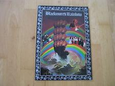 Ritchie Blackmore`s Rainbow Japan 1976 Tourbook Cozy Powell Ronnie James Dio