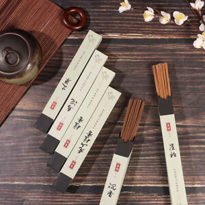 120pcs Natural Tibetan Buddha Incense Sandalwood Sticks Meditation Air Refre 0H